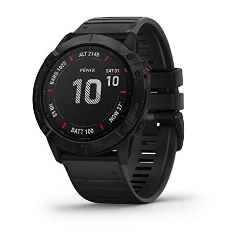 10. Garmin fenix 6, 10 bar wasserdicht, GPS, Herzfrequenz, Top Funktionen